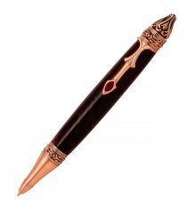 Gothica Ballpoint Twist Pen Kit - Antique Copper