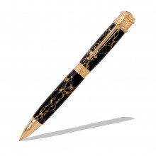 Faith Hope & Love Twist Pen Kit - 24K Gold