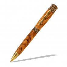 Faith Hope & Love Twist Pen Kit - Antique Brass