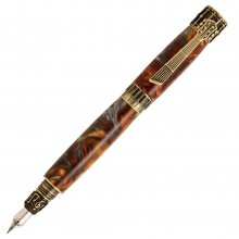 Music Fountain Pen Kit - Antique Brass