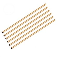 "Brass Pen Tubes 10"" x 10mm - Pack of 6"
