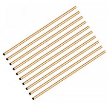 "Brass Pen Tubes 10"" x 7mm - Pack of 10"