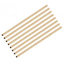 "Brass Pen Tubes 10"" x 8mm - Pack of 8"