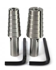 Professional Ring Mandrel - Half Size Set 4.5-13.5 - 2 PC