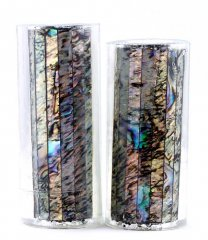 Paua Abalone Shell Pen Blank - Paua Heart Jr. Series #1350