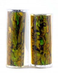 Paua Abalone Shell Pen Blank - Gold Jr. Series #1360