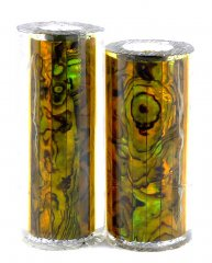Paua Abalone Shell Pen Blank - Jr. II Series Pen Kits - Gold #2522