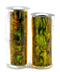 Paua Abalone Shell Pen Blank - Jr. II Series Pen Kits - Gold #2525