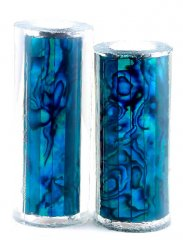 Paua Abalone Shell Pen Blank - Jr. II Series - Teal #2664