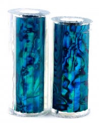 Paua Abalone Shell Pen Blank - Jr. II Series - Teal #2665