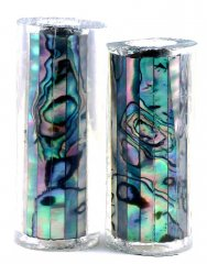 Paua Abalone Shell Pen Blank - Mexican Green Heart - Jr II Series #2707