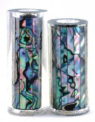 Paua Abalone Shell Pen Blank - Mexican Green Heart - Jr II Series #2710