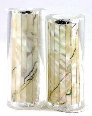 Paua Abalone Shell Pen Blank - Mexican Green - Jr II Series #2716