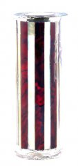 Paua Abalone Shell Pen Blank - Ruby & MOP Striped - Sierra #2802