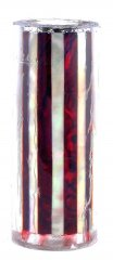 Paua Abalone Shell Pen Blank - Ruby & MOP Striped - Sierra #2803