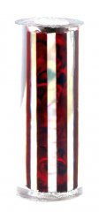 Paua Abalone Shell Pen Blank - Ruby & MOP Striped - Sierra #2804