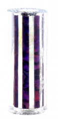 Paua Abalone Shell Pen Blank - Purple & MOP Striped - Sierra #2806