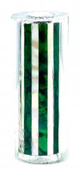 Paua Abalone Shell Pen Blank - Green & MOP Striped - Sierra #2807