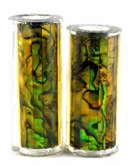 Paua Abalone Shell Pen Blank - Gold Paua - Jr II Series #2690