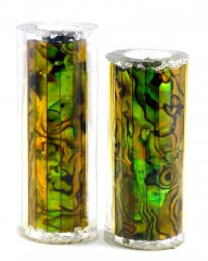 Paua Abalone Shell Pen Blank - Gold Paua - Jr II Series #2691