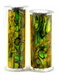 Paua Abalone Shell Pen Blank - Gold Paua - Jr II Series #2693