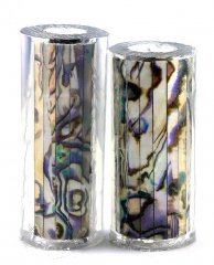 Paua Abalone Shell Pen Blank - White Paua - Jr II Series #2694