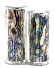 Paua Abalone Shell Pen Blank - White Paua - Jr II Series #2696