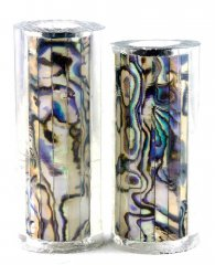 Paua Abalone Shell Pen Blank - White Paua - Jr II Series #2699