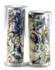 Paua Abalone Shell Pen Blank - White Paua - Jr II Series #2701