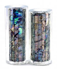 Paua Abalone Shell Pen Blank - Paua Heart - Jr II Series #2702