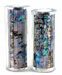 Paua Abalone Shell Pen Blank - Paua Heart - Jr II Series #2704