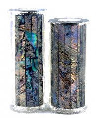 Paua Abalone Shell Pen Blank - Paua Heart - Jr II Series #2705