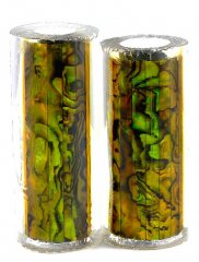 Paua Abalone Shell Pen Blank - Jr. II Series Pen Kits - Gold #2521