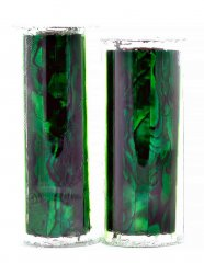 Paua Abalone Shell Pen Blank - Emerald - Jr II Series #2906