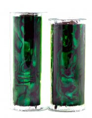 Paua Abalone Shell Pen Blank - Emerald - Jr II Series #2909