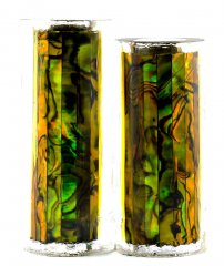 Paua Abalone Shell Pen Blank - Gold - Jr II Series #2915