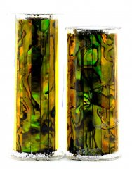Paua Abalone Shell Pen Blank - Gold - Jr II Series #2916