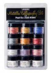 Pearl Ex Metallic Calligraphy Ink Making Set