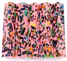 Color Explosion Mosaic Pen Blanks - Pink