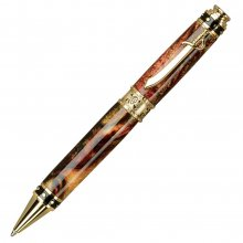 Pirate Ballpoint Pen Kit - 24kt Gold