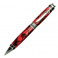 Pirate Ballpoint Pen Kit - Chrome