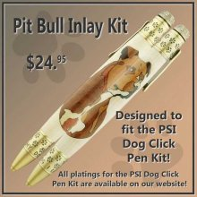 Pit Bull Laser Inlay Kit - Dog Pen Kits