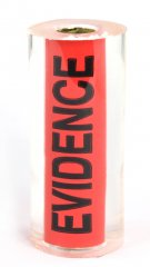 Police Evidence Tape Pen Blanks - Sierra Pen Kits. Side 1