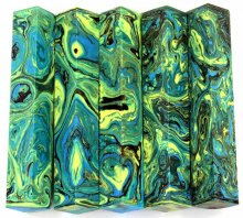 Lava Quad Pen Blanks #06 - Ocean Dreams