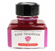 Rose Tendresse J. Herbin Bottled Ink (30ml)