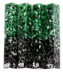 Heatwave Sparkle Pen Blanks - Green #428-431HW (Color Changing)