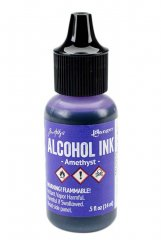 Ranger Tim Holtz Alcohol Ink .5 oz - Amethyst
