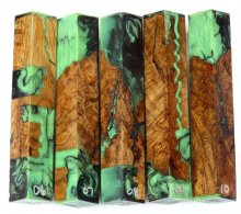 Crotch Oak Hybrid Pen Blanks #06-10DD