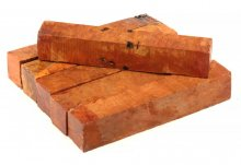 Red River Gum Burl Pen Blanks - 7/8""