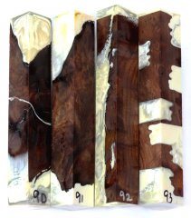 Redwood Burl Hybrid Pen Blanks #90-93EE